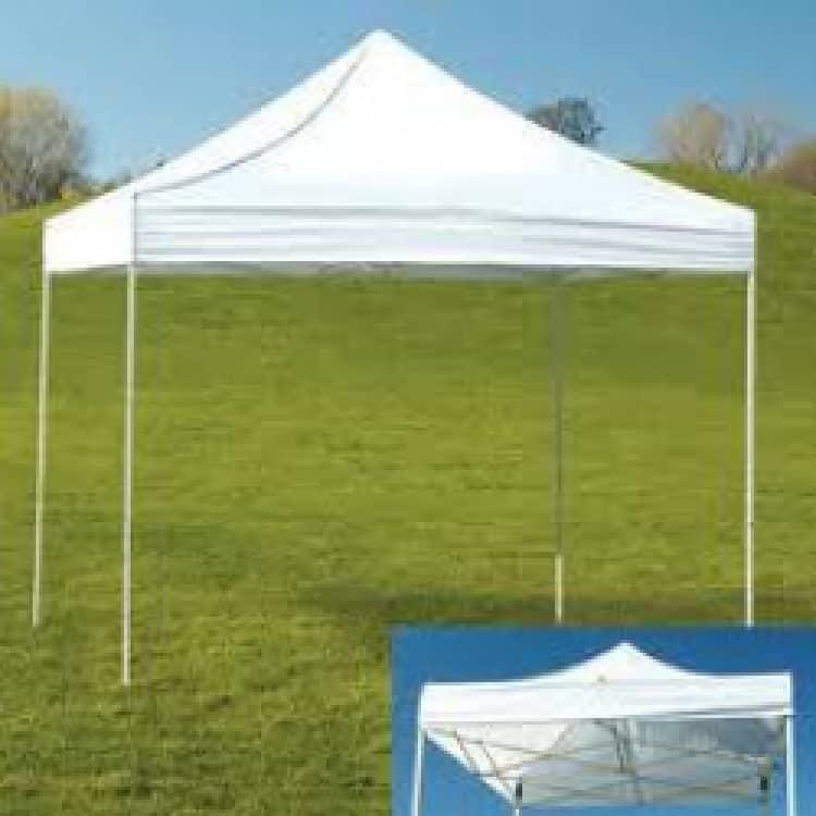 10 x 10 Pop Up Tent Rental