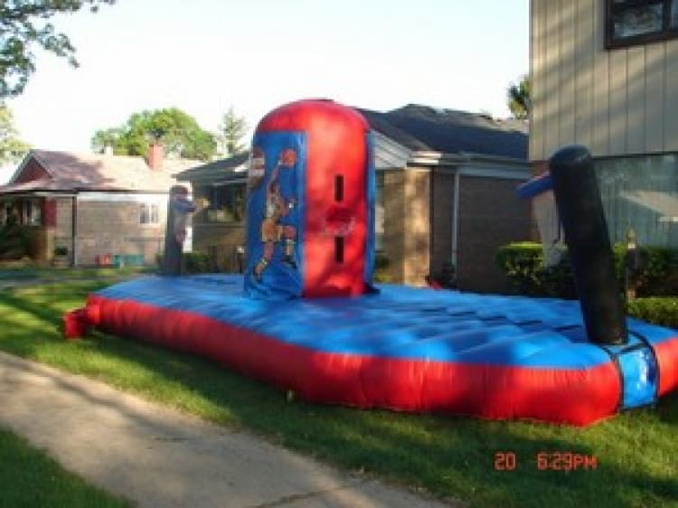 1st and Ten Basketball Bungee Game Rental