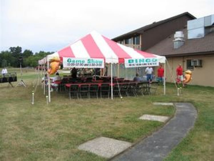 20 x 20 Pole Tent Rental