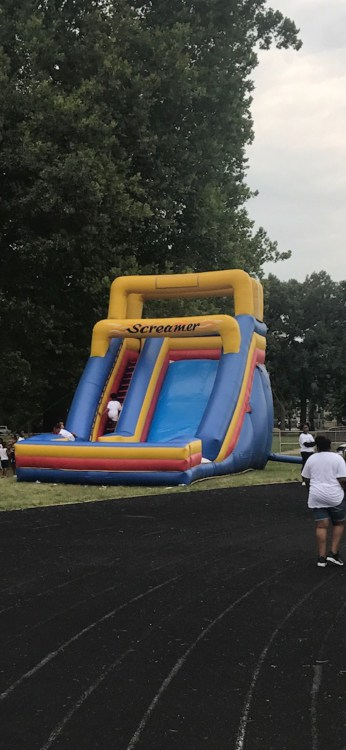 25ft Dry Slide Screamer Rental