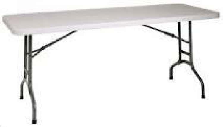 8 ft. Long Table Rental