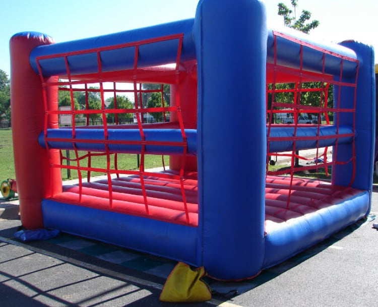 Cage Boxing Ring Moonbounce 15Ft x 15Ft Rental