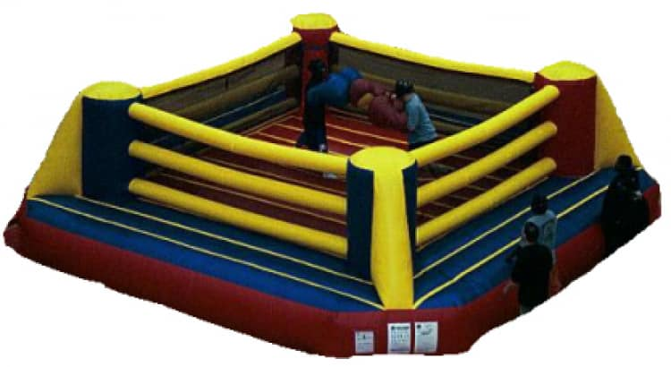 Cage Boxing Ring Moonbounce 25Ft x 25Ft Rental