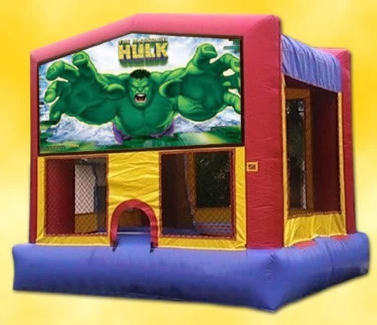 Incredible Hulk Moonwalk Rental