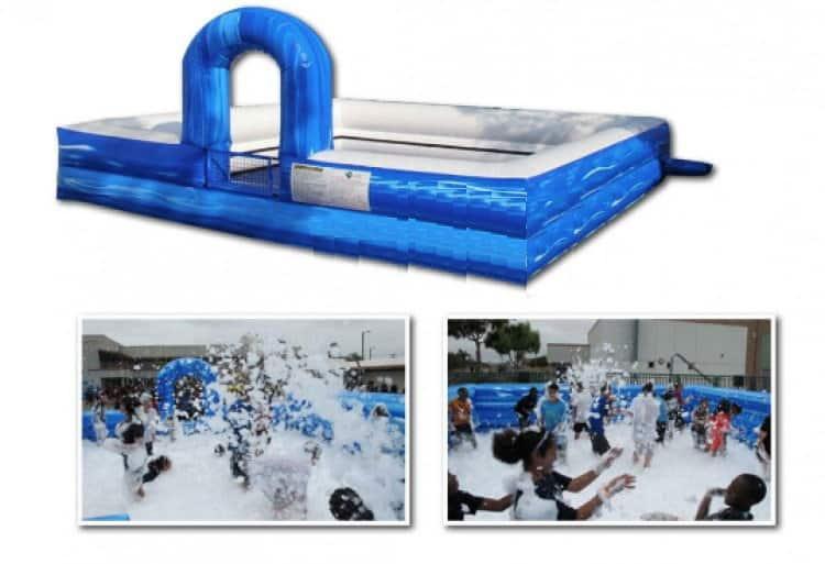 Inflatable Foam Pit Rental