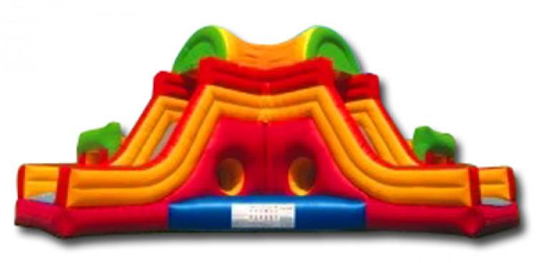 Kiddie Slide Corner Combo Rental