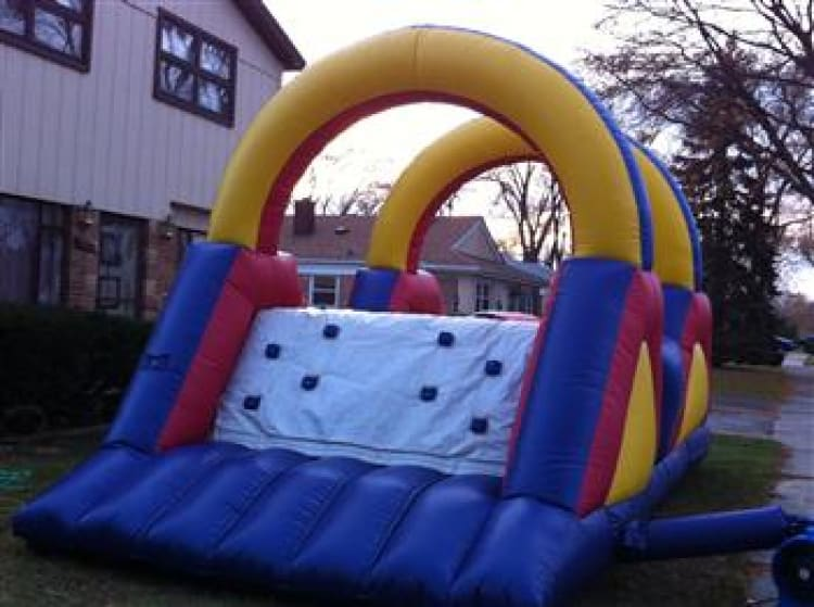 Obstacle Course Moonwalk Medium Rental
