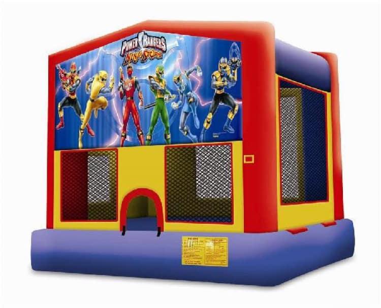 Power Rangers Bounce House Rental