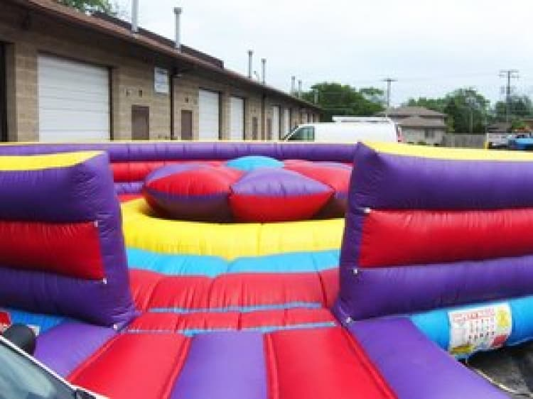 Rock N Roll Joust Inflatable Game Rental