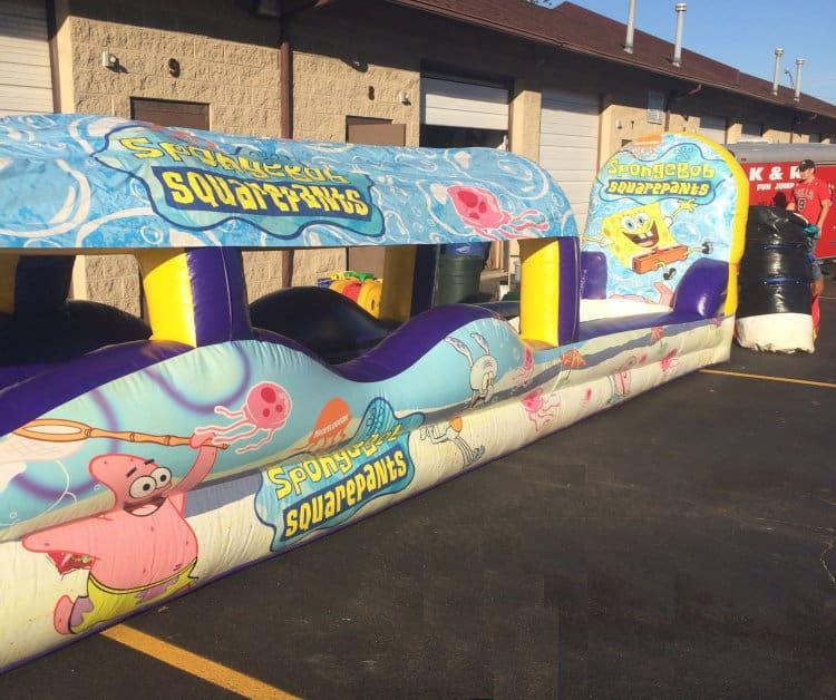 Slip n Slide Spongebob Squarepants One Lane Rental