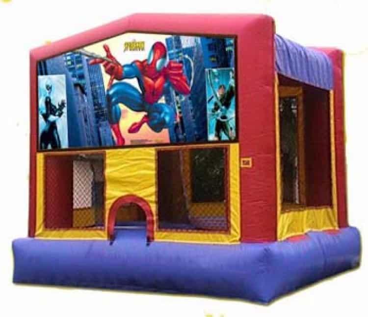 Spider Man Moonbounce Rental
