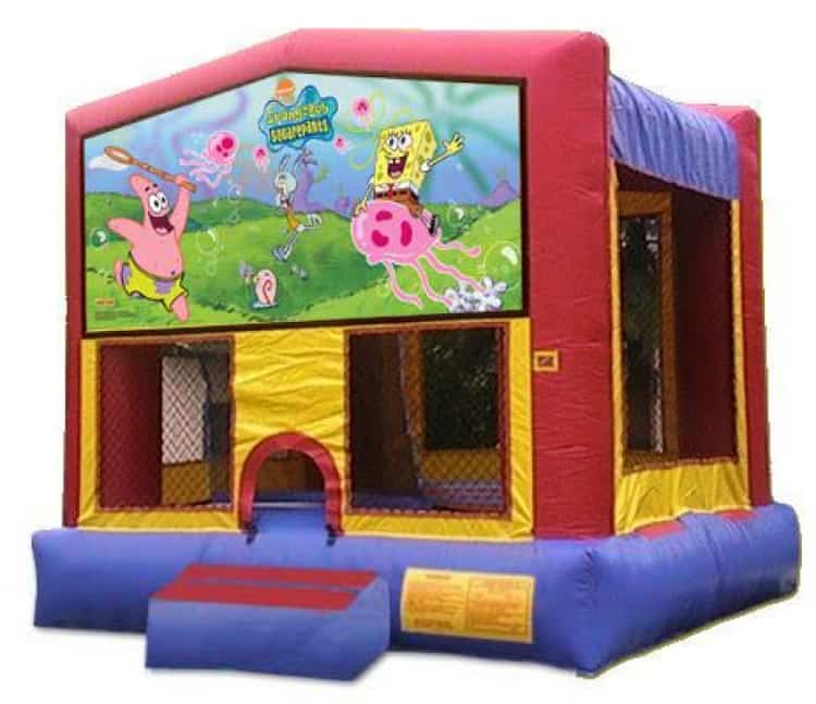Spongebob Squarepants Moonbounce Rental