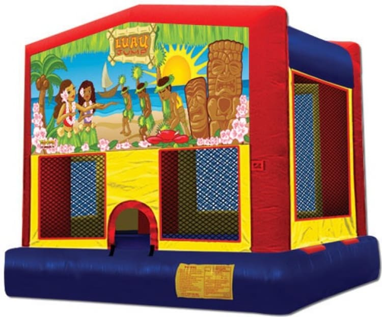 Tropical Luau Theme Jumper Rental