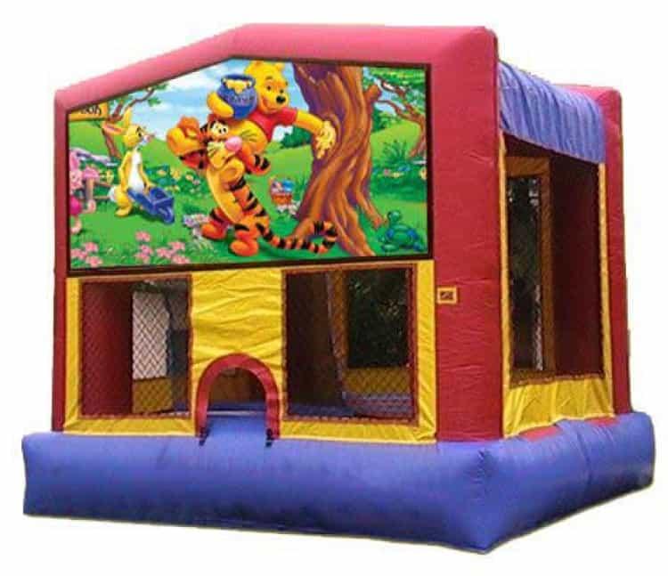 Winnie The Pooh Moonbounce Rental