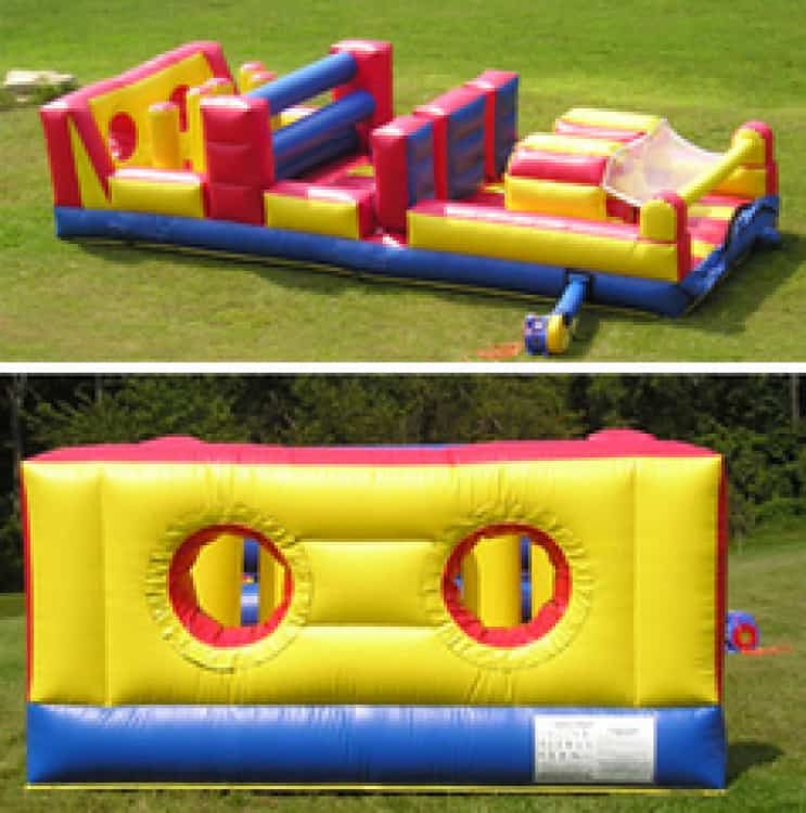 Obstacle Course Moonwalk Large Rental