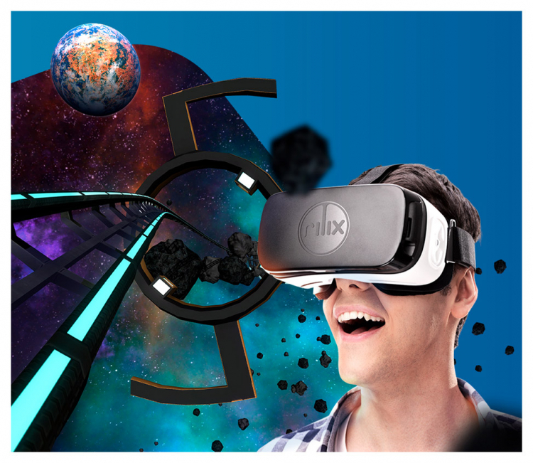 Virtual Reality Roller Coaster Rental